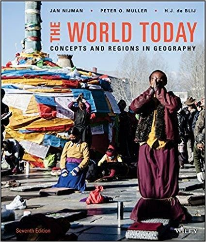 The World Today: Concepts And Regions In Geography 7th