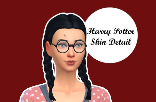 Cas d tails cicatrice harry potter the sims 4 cc for Mobili harry potter