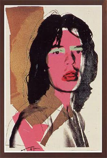 andy warhol jagger143 available through robin rile fine art andy
