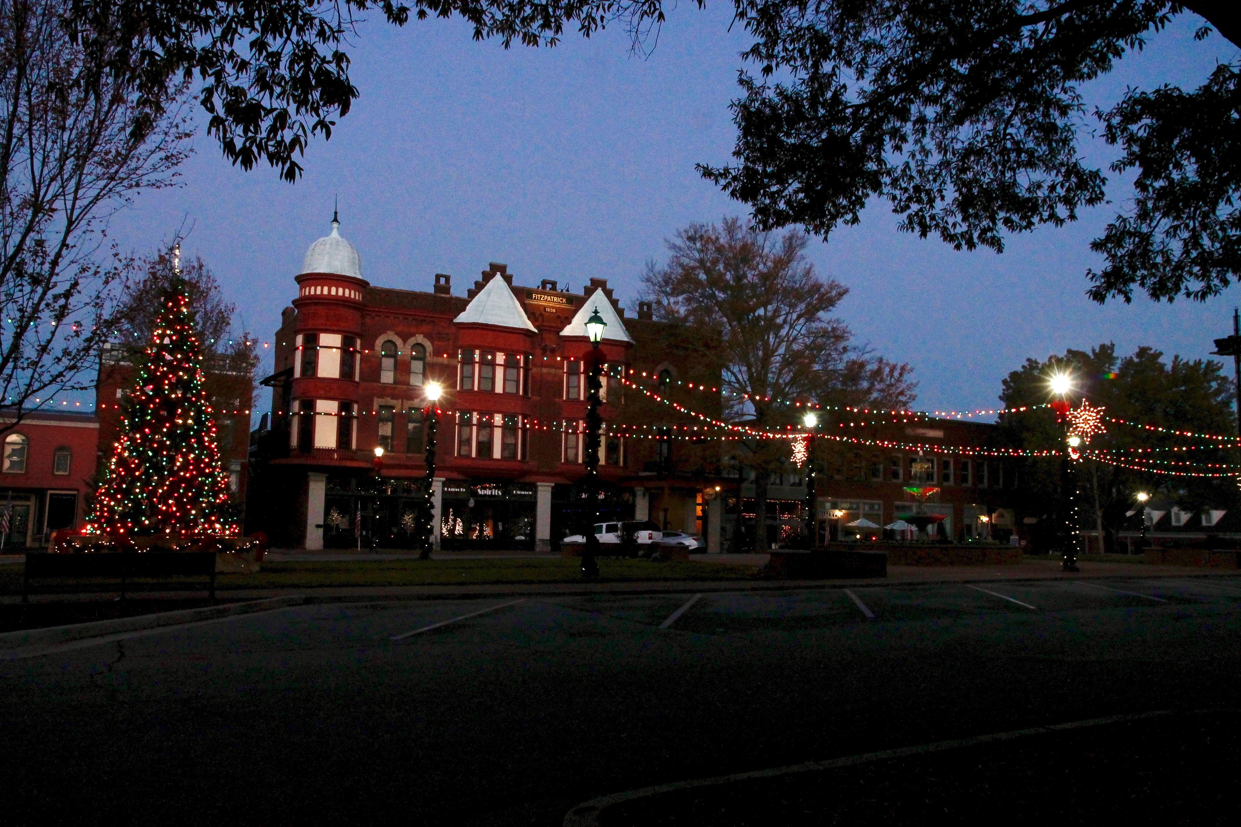 Christmas At Fitzpatrick Hotel Washington Ga