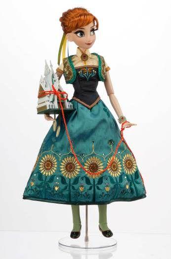 Muñecas Anna Y Elsa De Frozen Fever En Edición Limitada Anna Disney Muñecas Barbie Disney Muñecas De Las Princesas De Disney