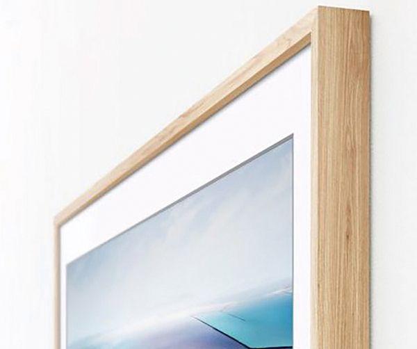 Samsung Bows Wood Framed Tv Framed Tv Bow Wood Picture Frame Tv