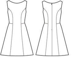 Photo of A-Linie Sommerkleid für Frauen – freies Schnittmuster Nähtalente