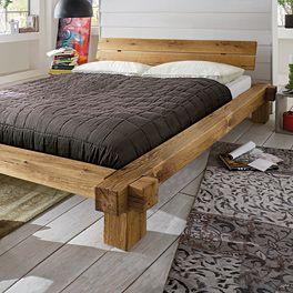 Balkenbett Viga Bett Selber Bauen Schlafzimmermobel Und