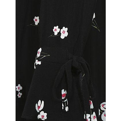 Floral Frill Sleeve Dress | Women | George at ASDA | Ditsy Poppy ...