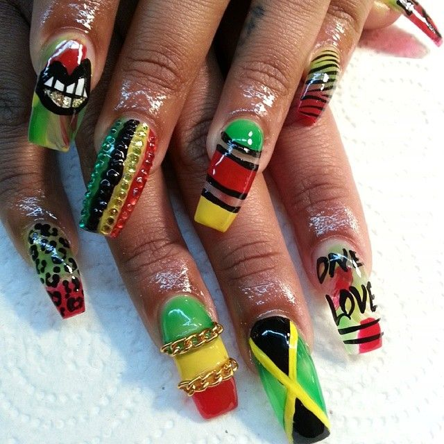 My client was going to Jamaica so I #NAILED HER #Padgram | Nail ...
