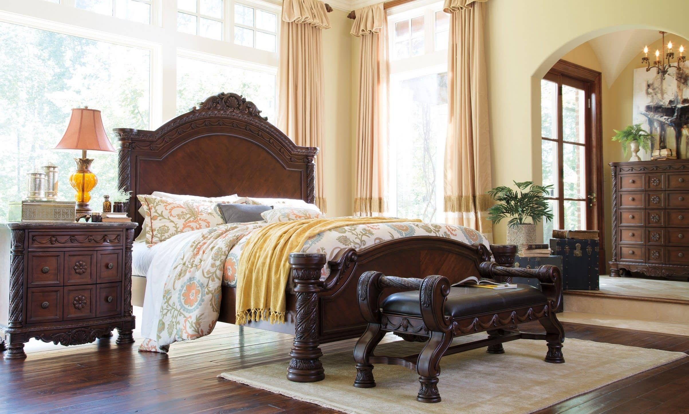 North Shore Bedroom Set Sale in 2020 Upholstered bench