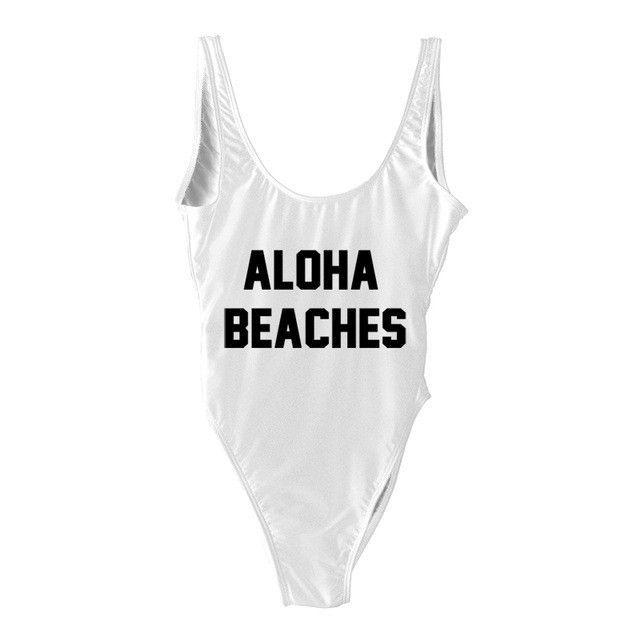 """Aloha Beaches"" Swimwear"