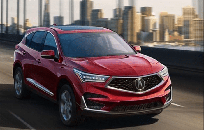 2020 Acura Rdx Redesign News Release Date Price Acura Acura