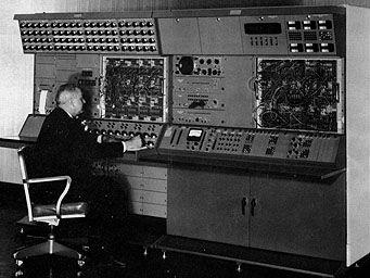 HYDAC 2000 Hybrid Digital Analog Computer  Used in 1969