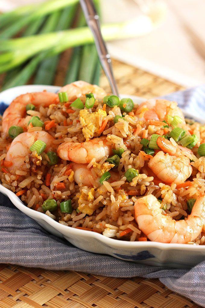 Easy Shrimp Fried Rice Recipe - The Suburban Soapbox