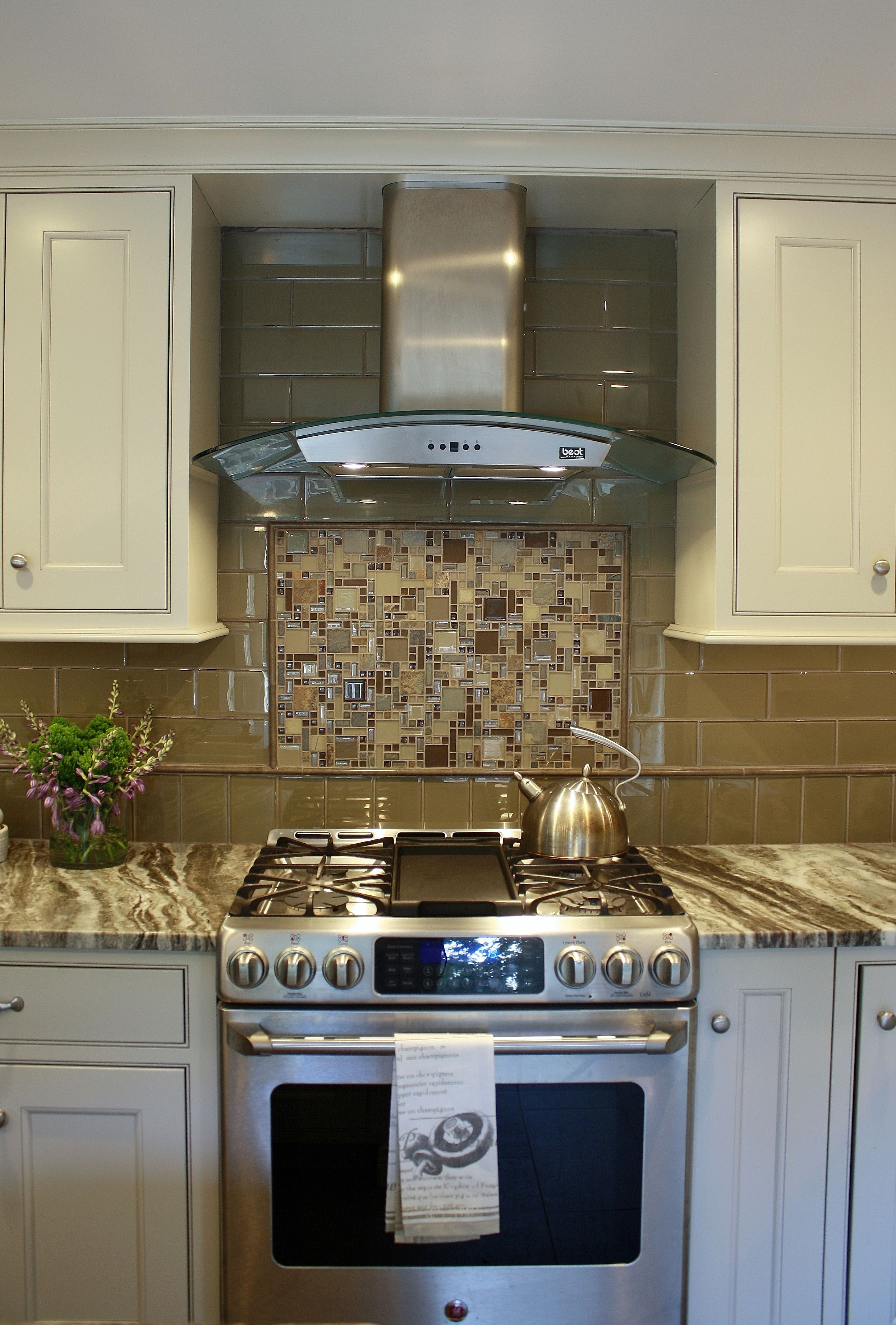 Brown Fantasy Leathered Quartzite Countertops With White