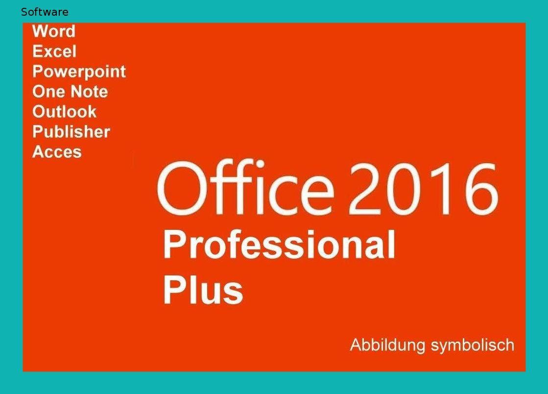 Microsoft Office 2016 Professional Plus Vollversion Deutsch Fur 1 Pc 32 64 Bit Gratis Installations Dvd Microsoft Office Dvd Deutsch