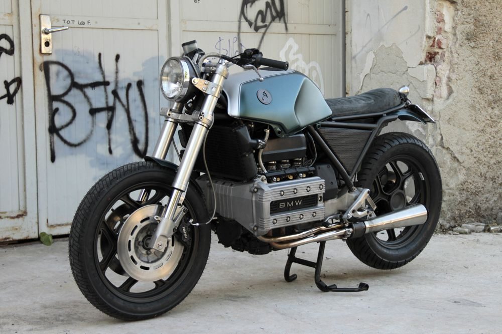 bmw's k100 sports tourer is a motorcycle that few people would