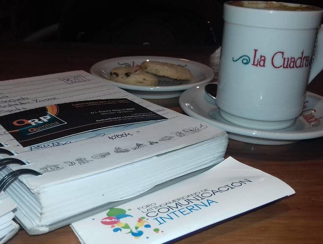 Pausa en una jornada con mucha actividad. y aprovechando para el desarrollo de nuevas actividades #comunicacion  #Chile
