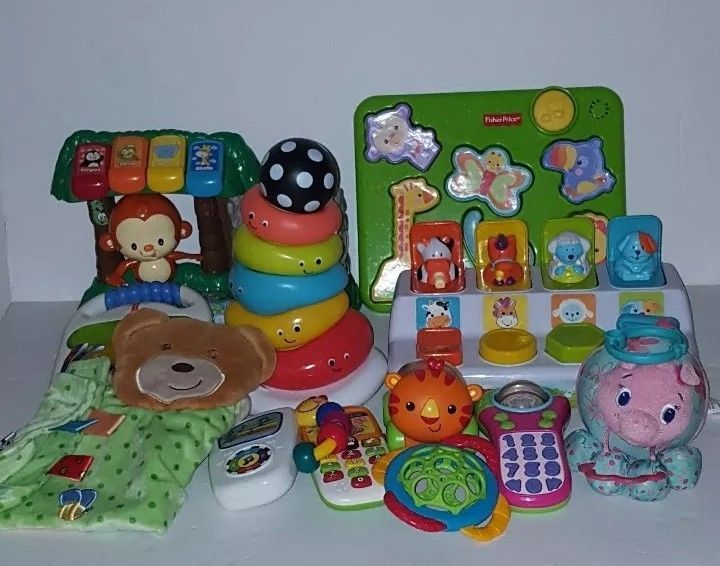 Baby Toddler Toy Lot Educational Fisher Price Vtech