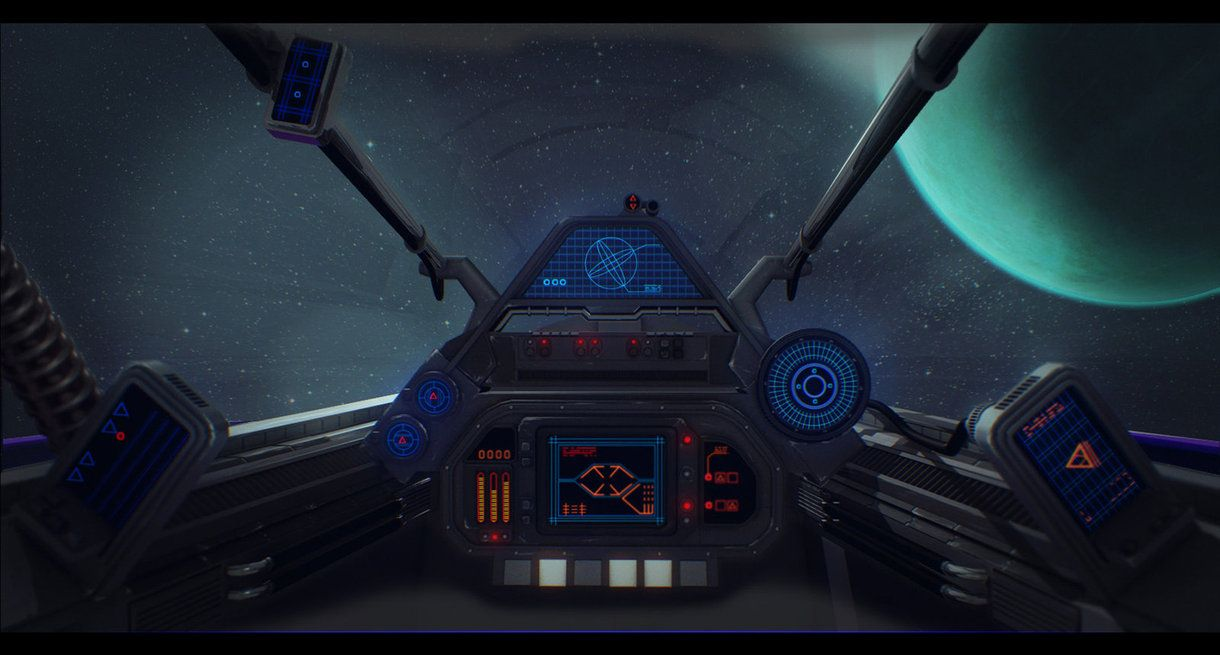 Star Wars Incom R10 Cockpit By Adamkop On Deviantart Science Art Projects Science Fiction Illustration Science Themes