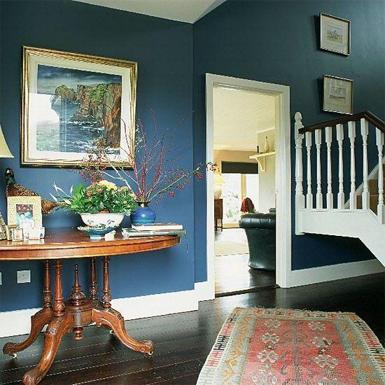 flur diele wohnideen m bel dekoration decoration living idea interiors home corridor blauen. Black Bedroom Furniture Sets. Home Design Ideas