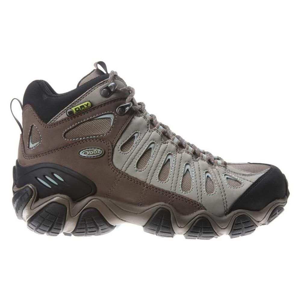 0e0008064a6 New Oboz Womens Sawtooth Mid Athletic Support Hiking Trail Athletic ...