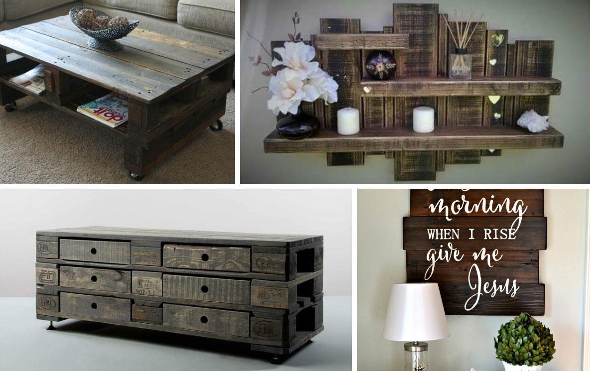 M s de 60 ejemplos de muebles hechos con palets pallets - Palets muebles reciclados ...