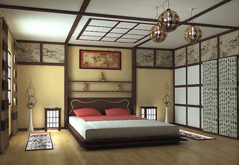 Pretty Japanese Themed Bedroom Inspiration Ideas For Master