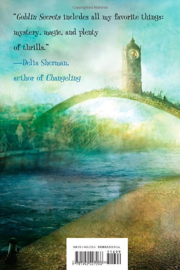 2012 William Alexander - Goblin Secrets [Margaret K. McElderry Books 9781442427266] illustrator: Alexander Jansson #backcover
