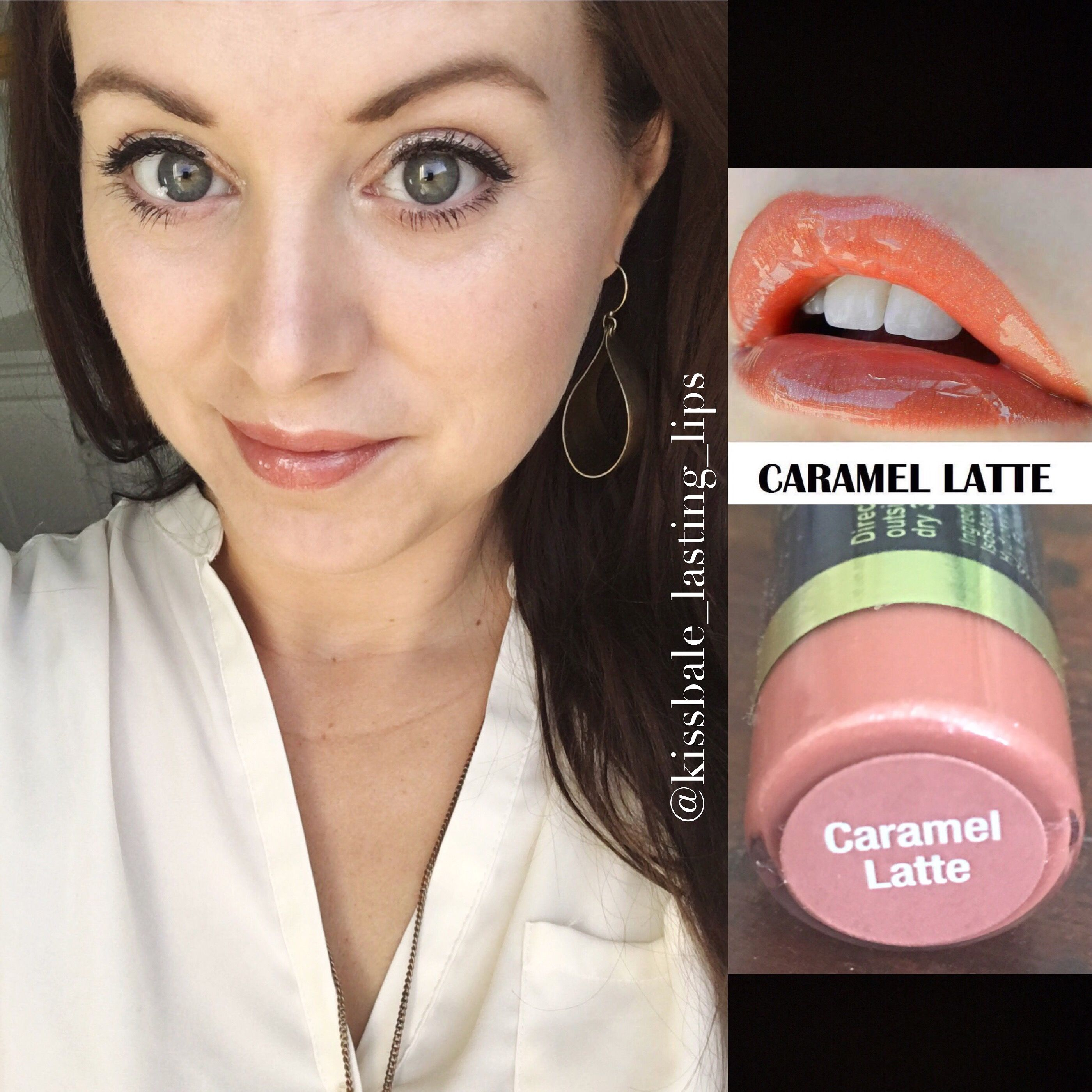 Carmel Latte LipSense Glossy Gloss Https://m.facebook.com