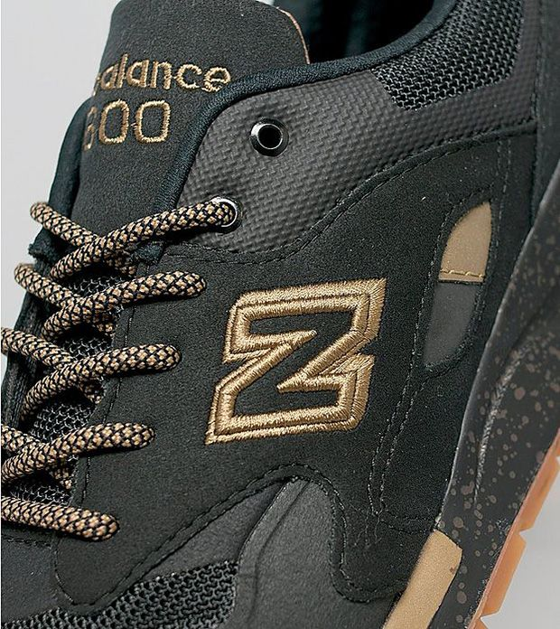 new balance 1600 black gum