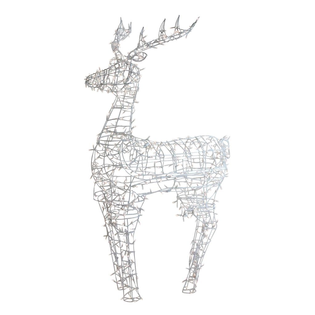 Northlight Seasonal Lighted Standing Reindeer Outdoor