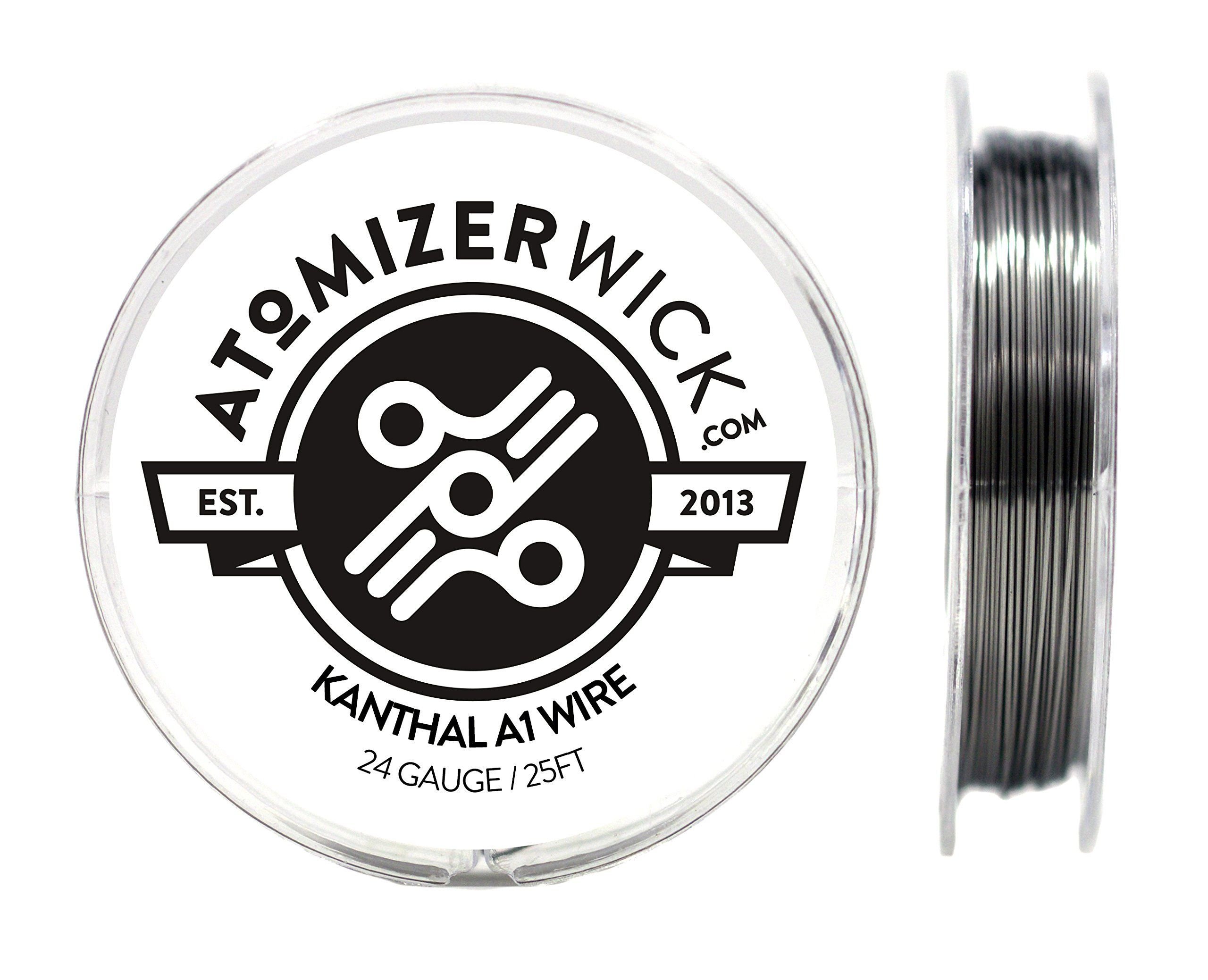 Genuine AtomizerWick Brand 24 Gauge Kanthal A1 Wire - 100ft, 50ft ...