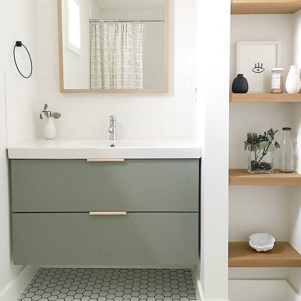 Diy Slab Ikea Vanity Simple Bathroom Bathroom Interior Design