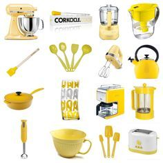 This Is Going To Be A Brief Series On Colorizing Your Kitchen Today Yellow Next Up Aqua