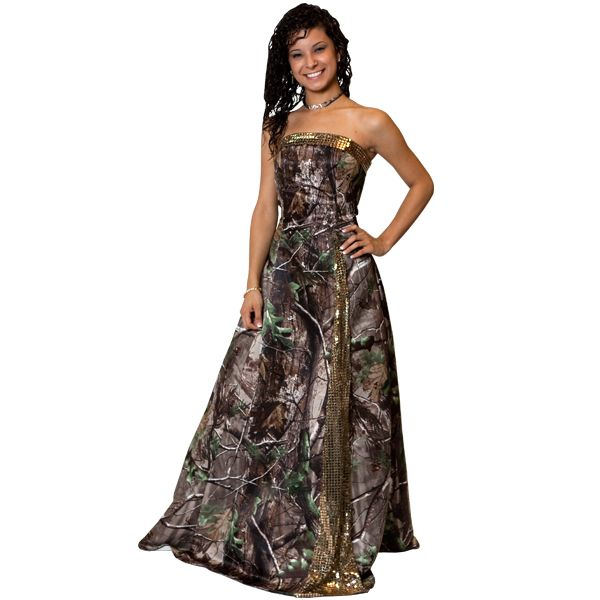 1000  images about Camo prom dresses on Pinterest | Mossy oak camo ...