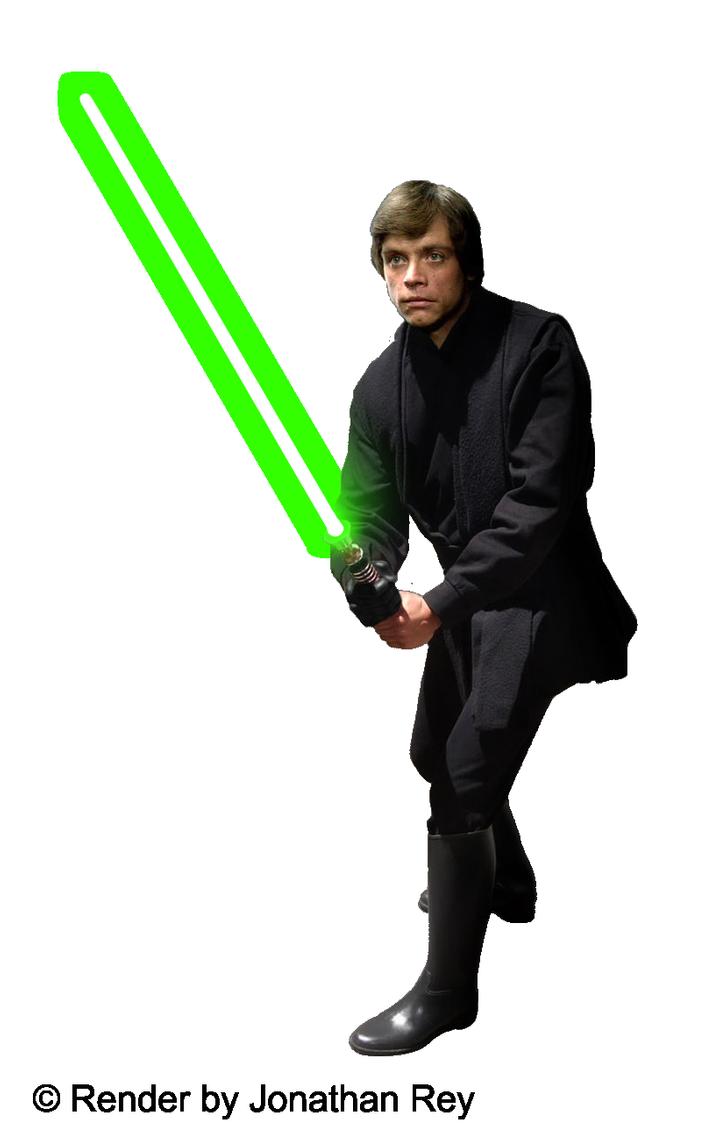 Luke Skywalker Jedi Render Png By Jonathanrey On Deviantart Luke Skywalker Jedi Luke Skywalker Jedi Knight Luke Skywalker