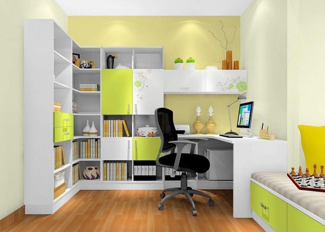 Lyon study room interior design 3D | Home / Interior Ideas ...