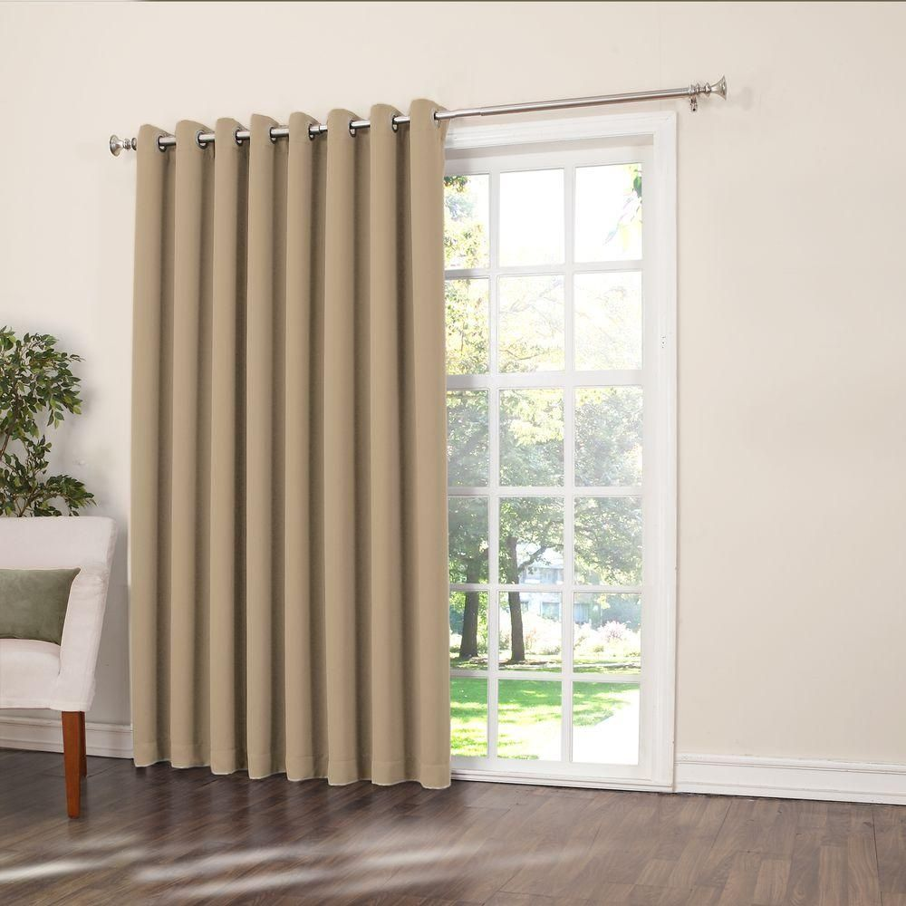 Amazing Extra Wide Curtain Panels For Patio Doors