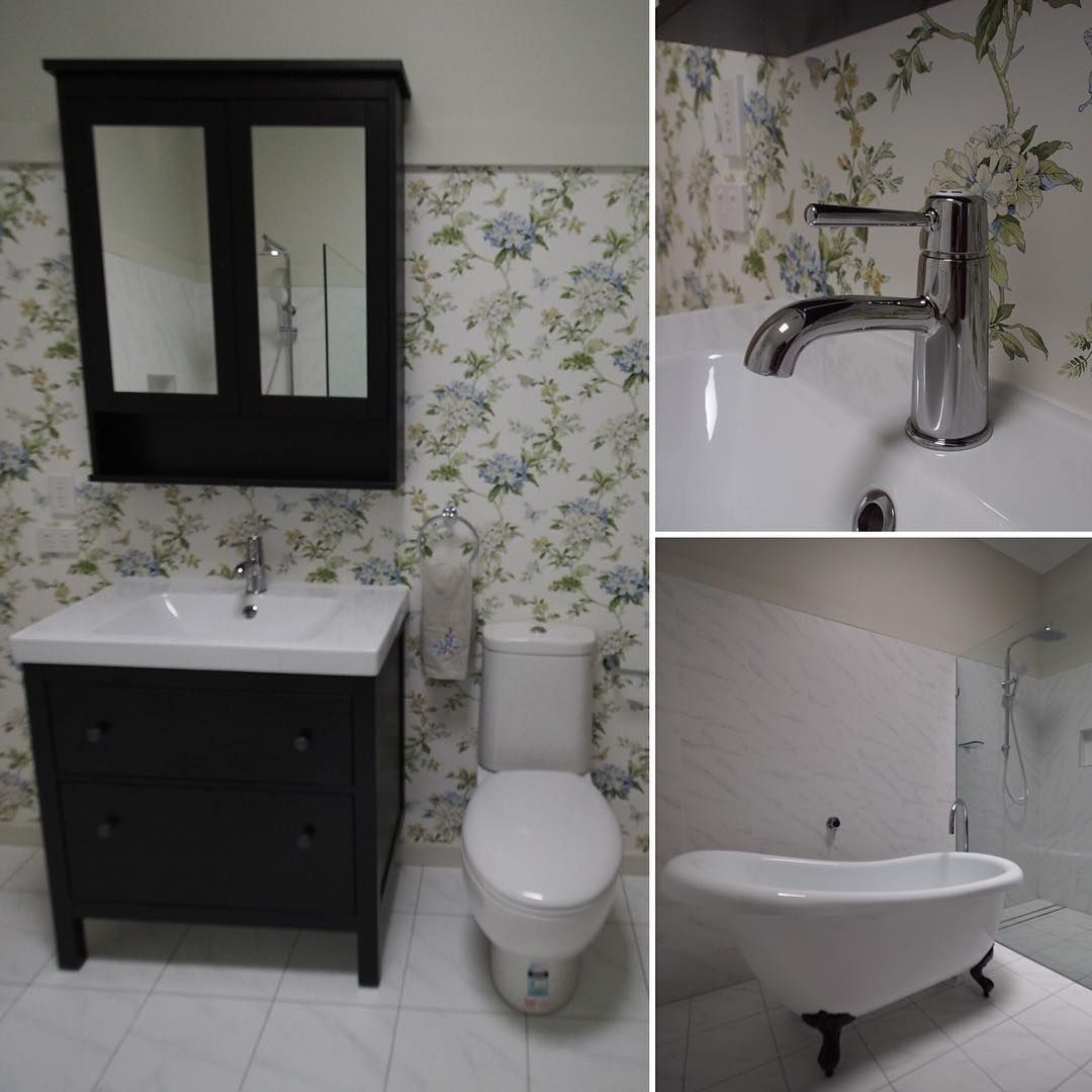 Another view of Angela\'s bathroom in Nundah to begin the week ...