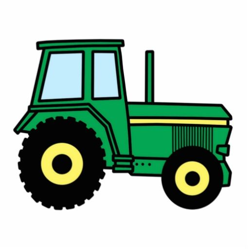Farm Tractor Clip Art Cartoon Clip Art Green Farmer