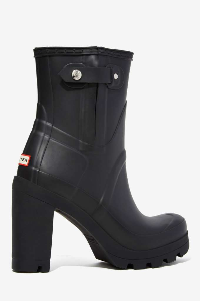 Hunter Original High Heel Rainboot - Shoes  2bf89872f2b81