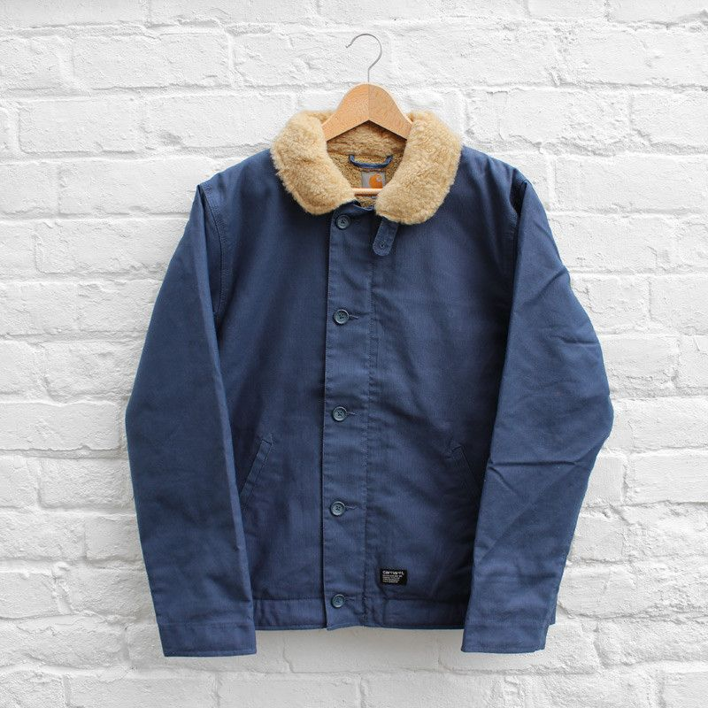 Carhartt Sheffield Jacket Blue Penny (Rigid) £164.99