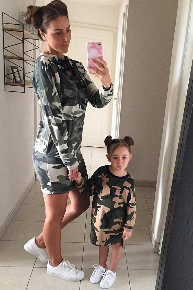 b8ecf85889 Mommy and me outfits - just try it once and you will not be able to stop