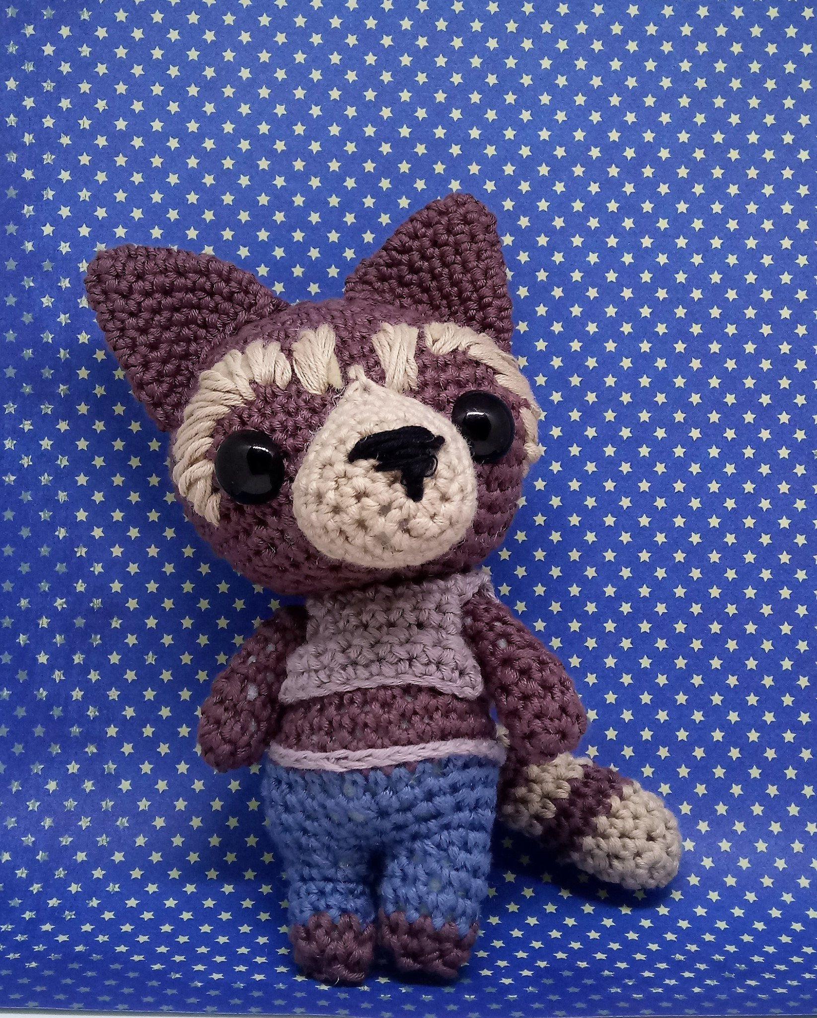 Rocket the racoon amigurumi style pdf crochet pattern inspired by rocket the racoon amigurumi style pdf crochet pattern inspired by guardians of the galaxy by amigurumibarmy bankloansurffo Gallery