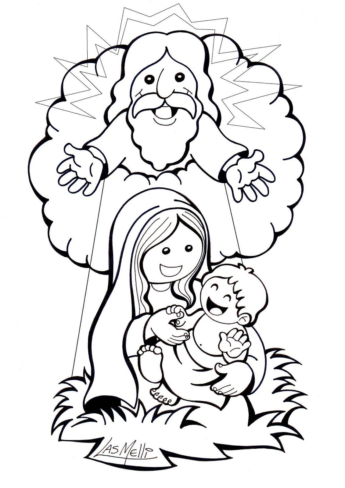 La Anunciacion A Maria Jose Lleva A Maria A Su Casa Maria Visita A Su Prima Isabel Jesus Na Temas De Catequesis Catequesis Historias De La Biblia Para Ninos
