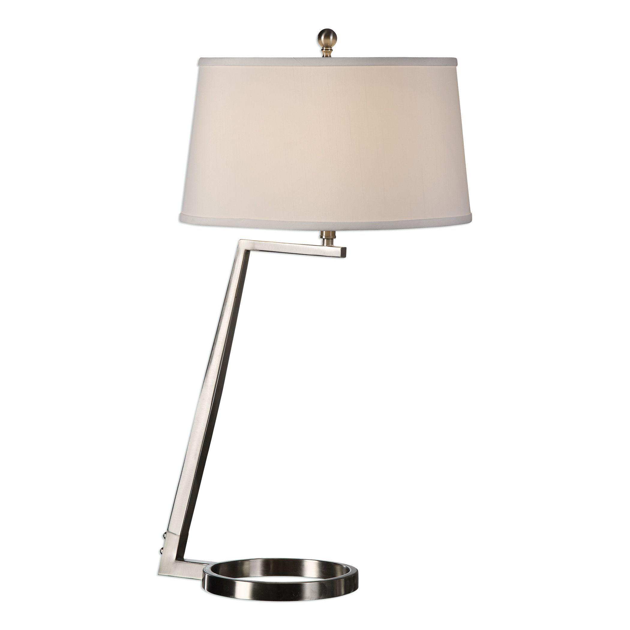 Ordino Brushed Nickel Lamp Table lamp, Desk lamp, Buffet