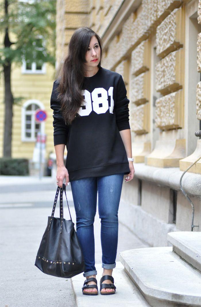 Birkenstock Style Inspiration: Birkis zur Jeans   basic