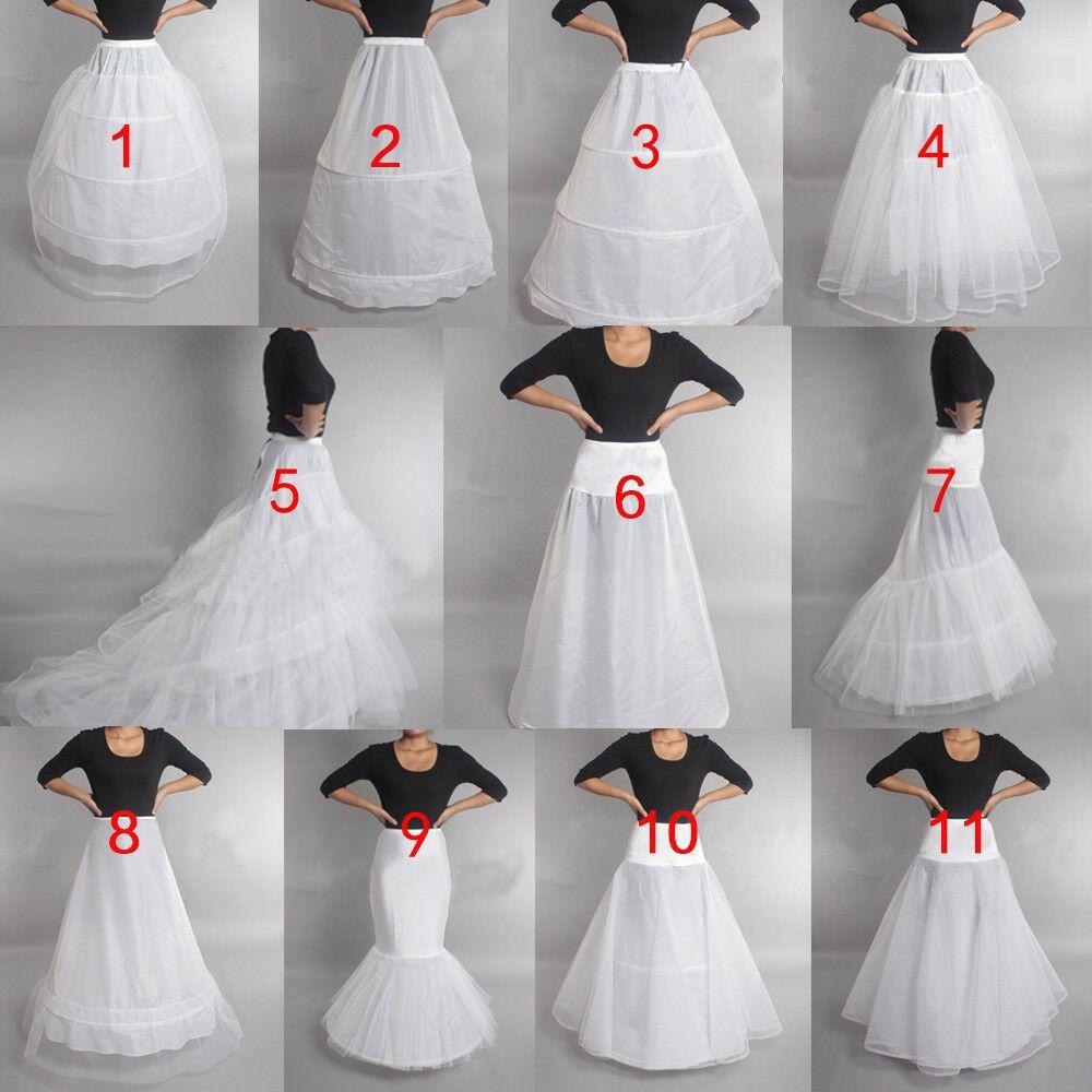 White 6 Hoop Petticoat Wedding Ball Gown Crinoline Bridal Dress Skirt Underskirt For Sale Online In 2020 Wedding Dress Petticoats Ball Gowns Wedding Petticoat Dress