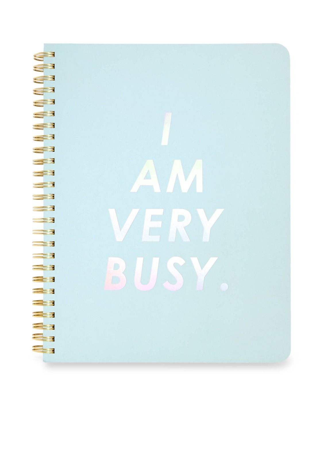 Perfect for your never-ending to-do list: ban.do mini 'I Am Very Busy' Notebook.