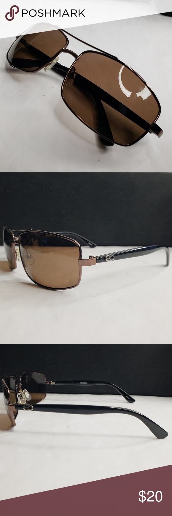 ff7ecfb400c ... Up for sale is a pre-owned pair of PACIFIC-EDGE Polarized Sunglasses.  The sunglasses are in great condition. PACIFIC-EDGE Accessories Sunglasses