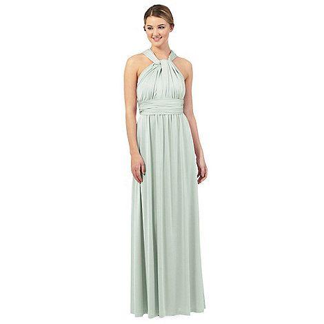 Debut Light green multiway evening dress | Debenhams