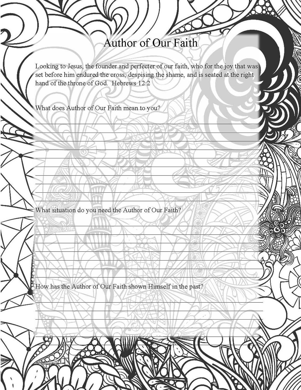 Printable coloring pages names - Names Of God Coloring Pages Prayer Journal Adult Coloring Page Printable Coloring Pages Bible Verse Adult Coloring Meditative Coloring